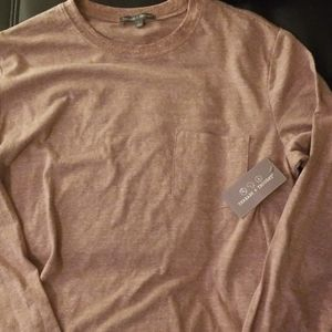 NWT Threads 4 Thought LS Heathered Tee